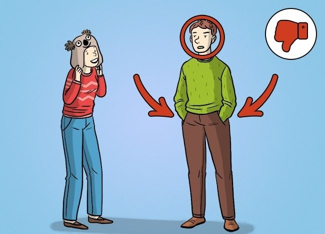 از روی زبان بدن به روابط عاطفی و احساسی اتان پی ببرید